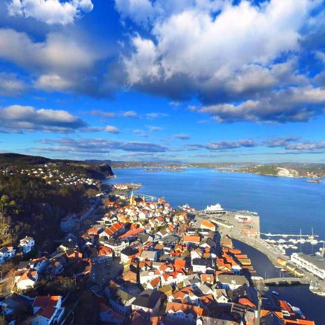 Kragerø sentrum 360-grader