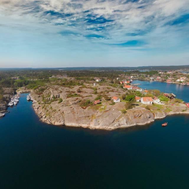 Portør utenfor Kragerø i 360-grader