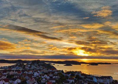 Soloppgang Kragerøfjorden