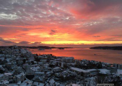 Kragerofjorden vintermorgen
